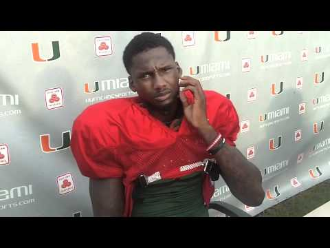 Jacory Harris Fall Camp interview (08-11-11)