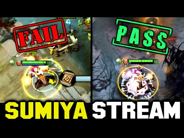 FAIL and PASS TP Bait in One Game   Sumiya Invoker Stream Moment #1785