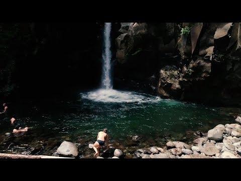 Costa Rica: Catarata Las Golondrinas - Limón ¡Qué buen lugar! HD