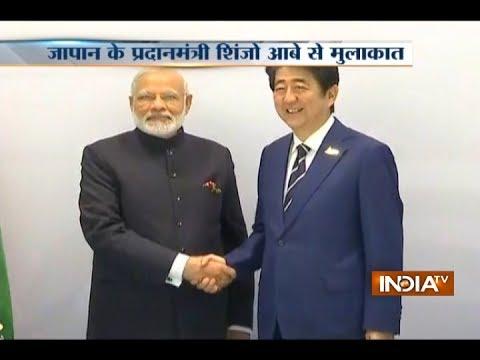 PM Modi meets Japan's Shinzo Abe at G20 Summit