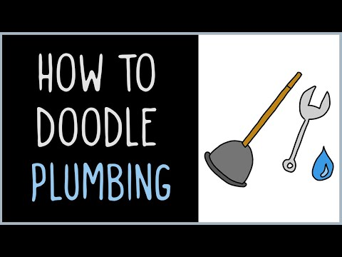 How to Draw Plumbing (drawing tips)