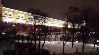 Смотреть видео Новогодняя  Москва.  2017 онлайн