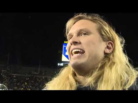 Chase Winovich one-on-one after Michigan win over Penn State
