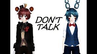 MMD FNAF Don T Talk Toy Freddy Toy Bonnie 2160p60 4k