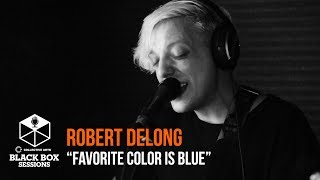 "Robert DeLong performs ""Favorite Colour Is Blue"" live at Indie88 in..."
