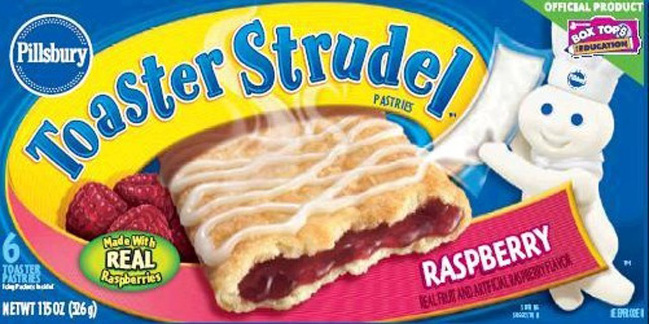 how to make toaster strudels in the oven