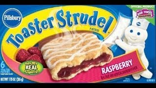 Repeat youtube video Pillsbury Toaster Strudel Unboxing