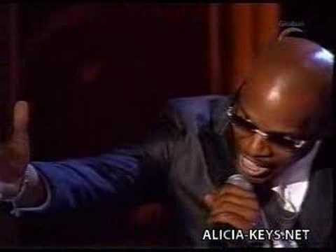Alicia Keys and Jamie Foxx - Georgia On My Mind Live Grammy