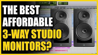 The Best Affordable 3-Way Studio Monitors? Kali IN-8 V2