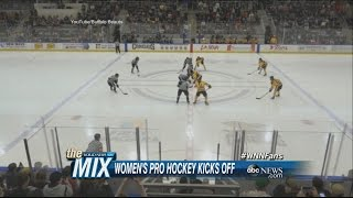 Opening Day for Women's Professional Hockey League   ABC News