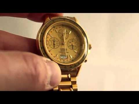 a4ecec63d9c3 Lorus N945 - YouTube