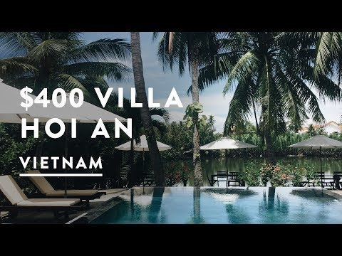 $400 A MONTH VILLA IN VIETNAM | Hoi An Travel Vlog 062, 2017 | Digital Nomad