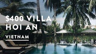 $400 A MONTH VILLA IN VIETNAM | Hoi An Travel Vlog 062, 2017 | Digital Nomad