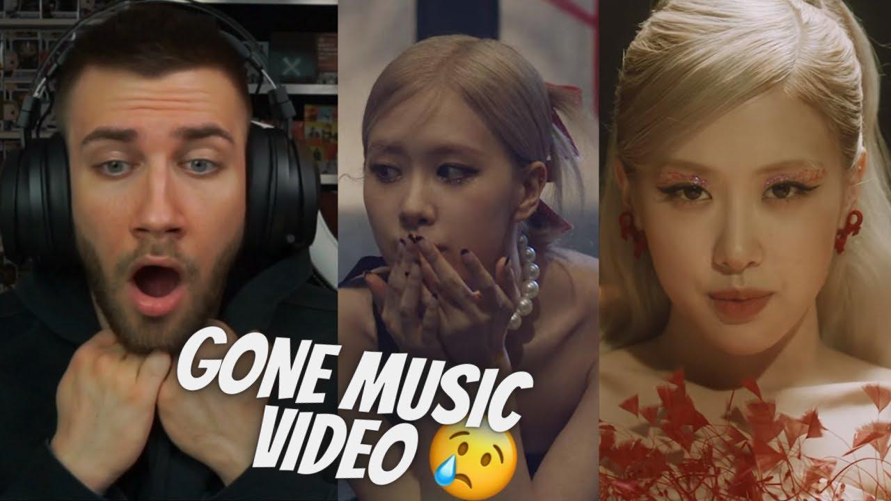 BLACKPINK ROSÉ - 'Gone' M/V MUSIC VIDEO - REACTION