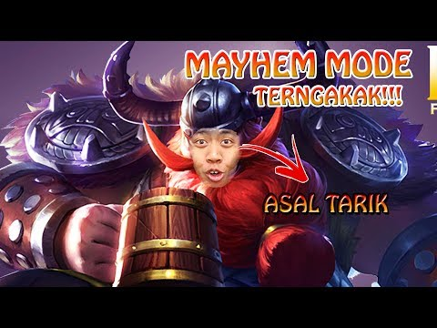 NGAKAK SO HARD MAIN MAYHEM MODE ft HANTOP !!! - Mobile Legends Funny Moment Indonesia