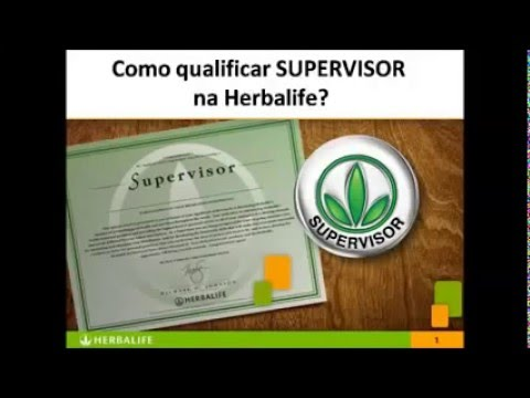 como qualificar supervisor na herbalife evelise_coach