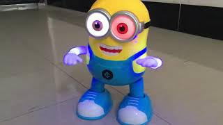 Toys Despicable Minion Dancing Robot Kids Educational Toy For Children Play