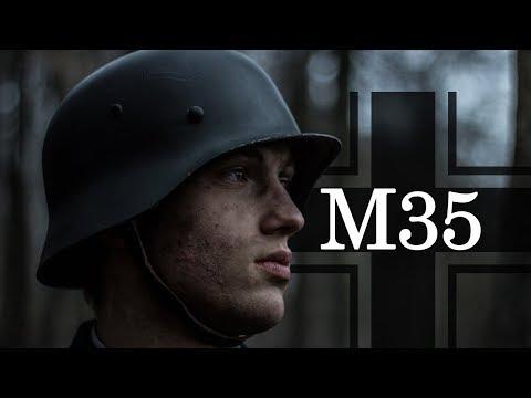 M35 Stahlhelm und EK2 Ordensband  Befestigung [Antwort auf Fragen]