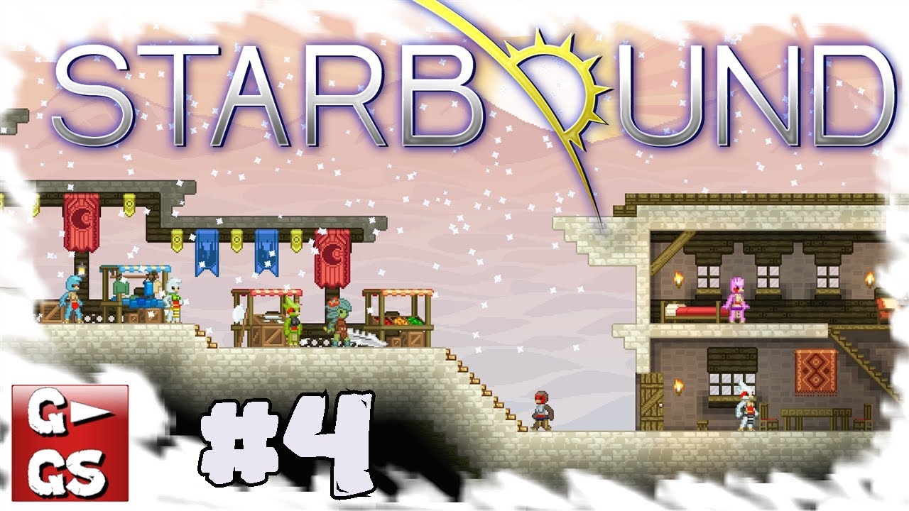 Starbound 4 Ein Total Dummer Zaun Minecraft Meets Terraria In Space
