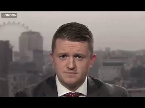 Tommy Robinson, PEGIDA UK, debates Islam and Immigration on Arab TV (07/02/2016)