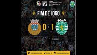 Arouca 0 - 1 Sporting (Relato Antena 1 do Golo Do Sporting)