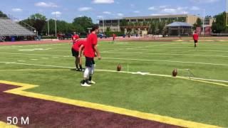 Adam Culp - 2018 Kicker/Punter (Committed to U of Michigan)