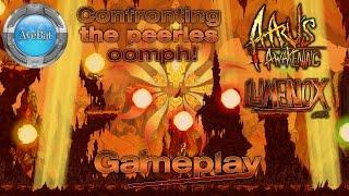 Aaru's Awakening Gameplay First Boss Confronting the peerles oomph 1080p 60fps
