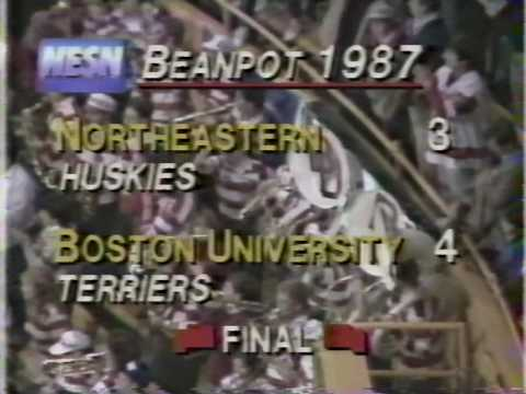 BU Hockey - 1987 Beanpot Championship game-winning goal
