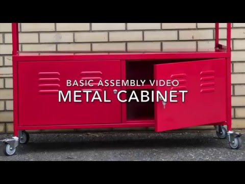 Metal Cabinet Basic Assembly Video