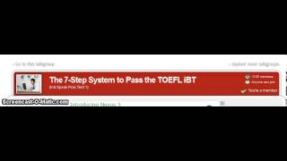 Online TOEFL Course / J Response NE Independent Speaking Practice Test 1