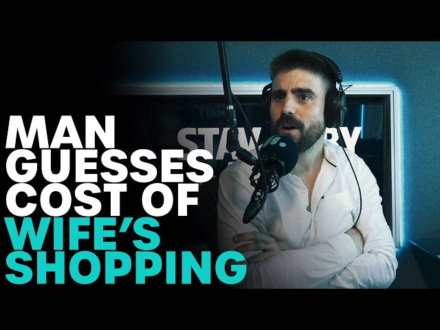 Man Guesses Prices of Wife's Shopping | B105