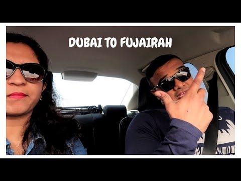 DUBAI TO FUJAIRAH | Quickest and most scenic journey through mountains