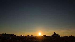 Sunset to Sunrise Time Lapse - Oregon Star Party - August 23, 2014