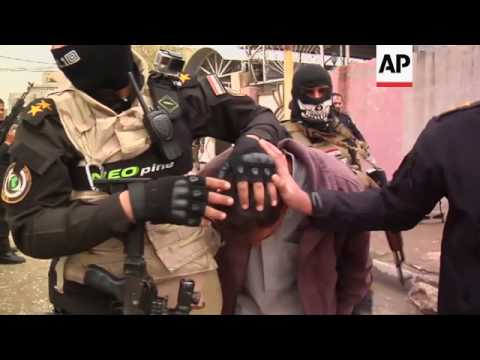 Suspected IS group members arrested in Mosul