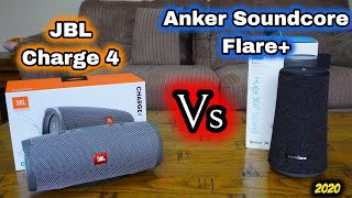 Anker Soundcore Flare+ Vs JBL Charge 4: Which one Should you BUY?