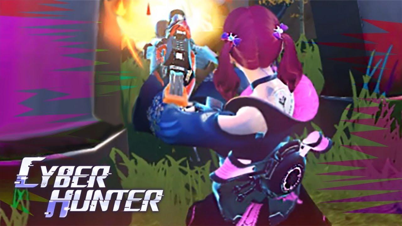 TRETA CONTRA ESQUADRÃO! - Cyber Hunter