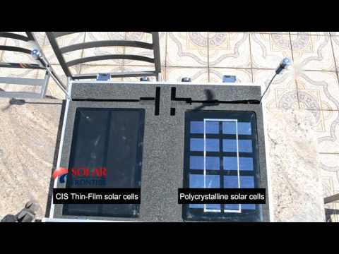 Solar Panel Experiment: CIS Thin Film vs Crystalline