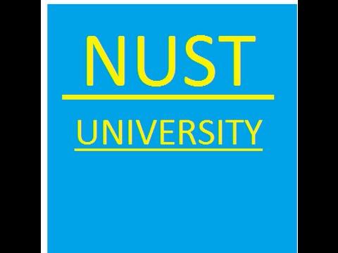 NUST University admission procedure