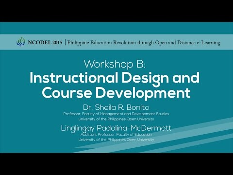 Workshop B - Instructional Design and Course Development