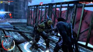 Middle-Earth: Shadow of Mordor - Free roam/Nemesis Gameplay