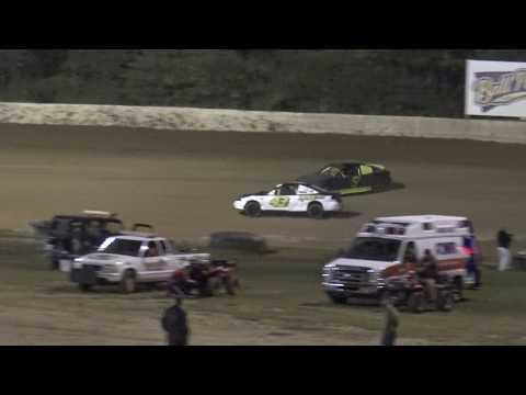 NBTF   Florence Speedway   9/30/17   Zach Atkerson Rollover