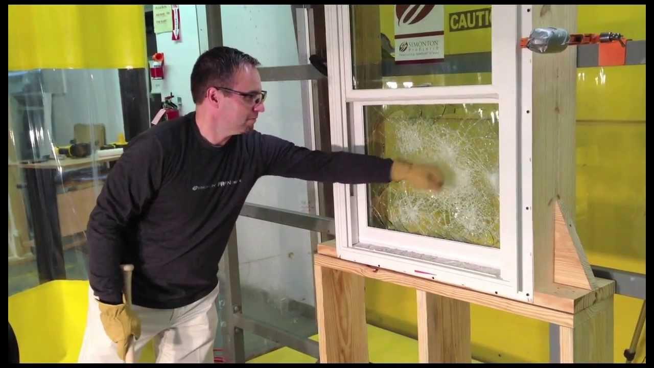 Impact Resistant Window Testing Youtube