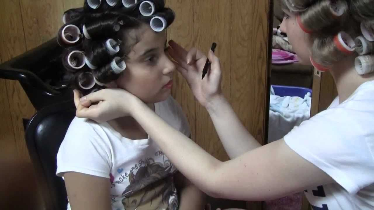 Hair Styling w/ Rollers # 2 - YouTube