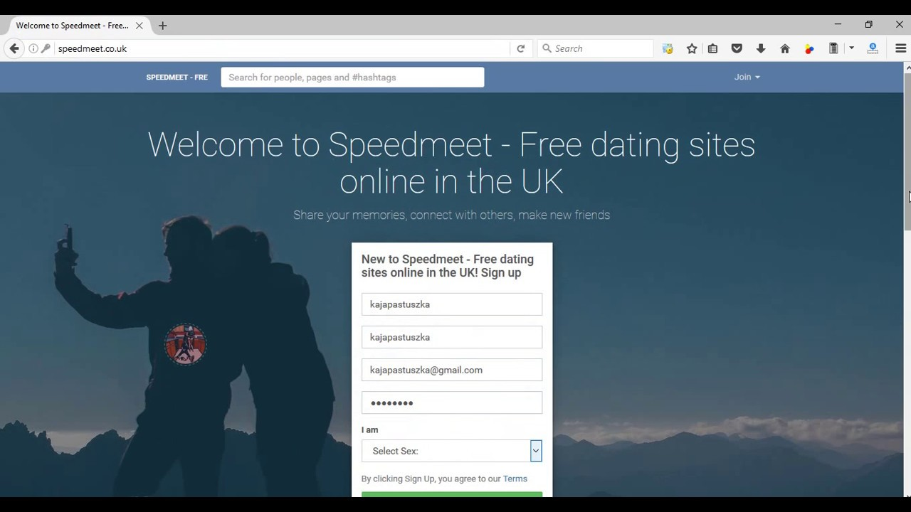 Free dating website in uk