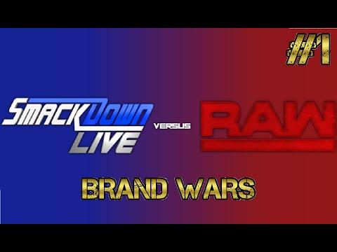 TEW 2016 WWE BRAND WARS - Episode 1 -...
