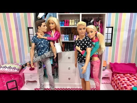 Barbie Ken and Friends Vacation!! Part 1