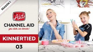 KINNERTIED GOES CHARITY | MIT CHANNEL AID SUPPORTEN WIR KINDER UND JUGENDLICHE IN NOT