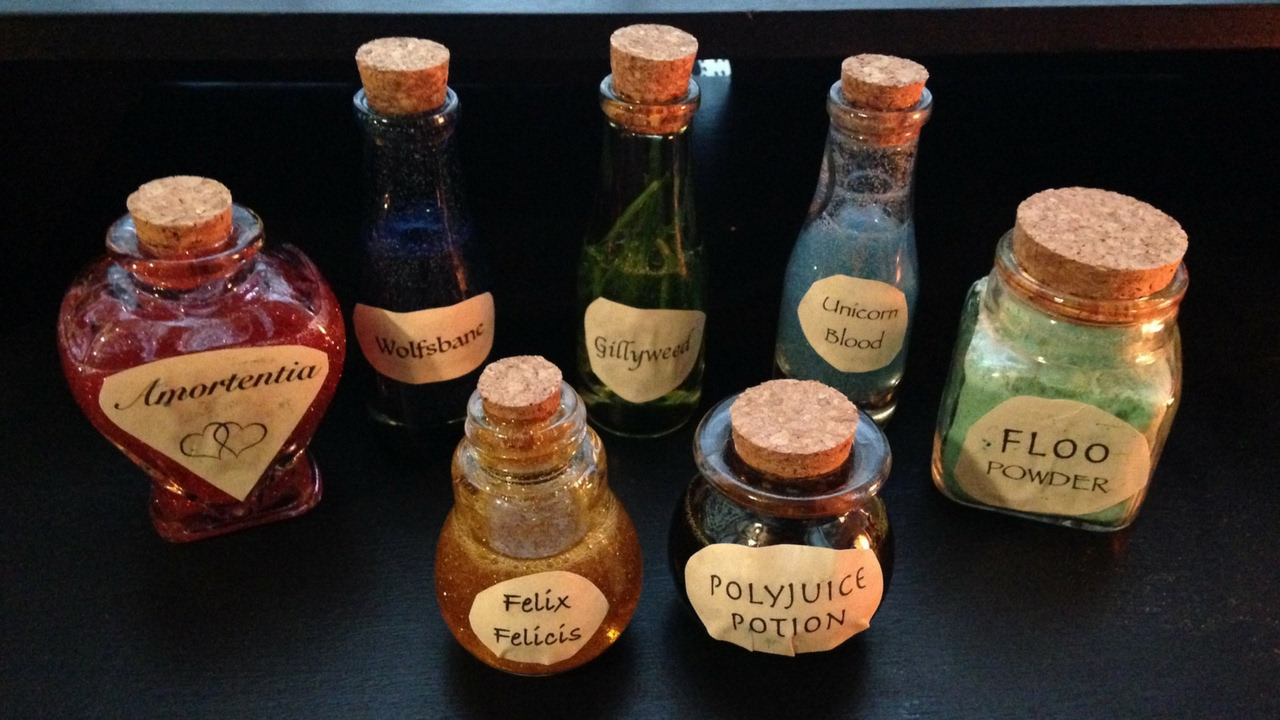 Making Diy Harry Potter Potions Bottles Just Being Jayla