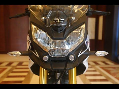 2017 Honda CBF190X Unveiled In China