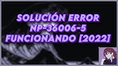 PS4 ERROR NP-36006-5 SOLUTION - YouTube